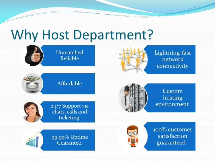 Why Host Department?