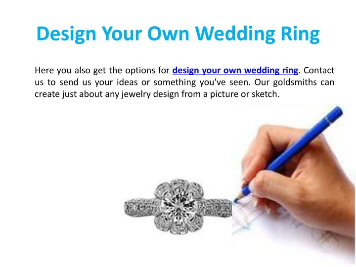 Design Your Own Wedding