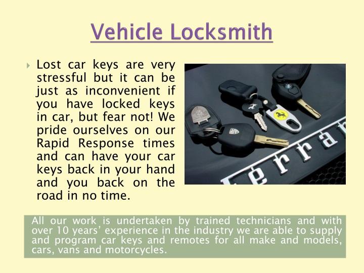 Vehicle Locksmith