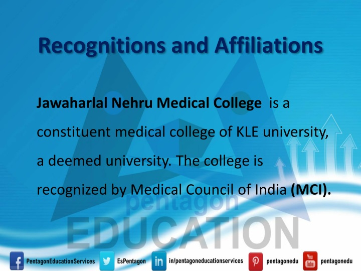Recognitions and Affiliations