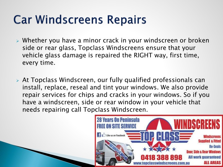 Car Windscreens Repairs