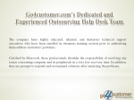 go4customer com s dedicated and experienced outsourcing help desk team