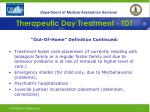 therapeutic day treatment tdt11