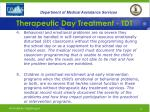 therapeutic day treatment tdt14