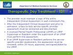 therapeutic day treatment tdt16
