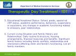 therapeutic day treatment tdt20