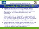 therapeutic day treatment tdt35