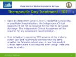 therapeutic day treatment tdt6