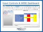 input controls webi dashboard