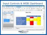 input controls webi dashboard4