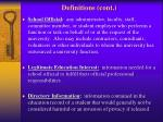 definitions cont