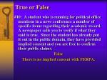 true or false6
