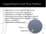 copperhead is not pure python