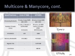 multicore manycore cont