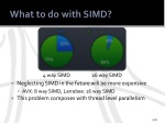 what to do with simd