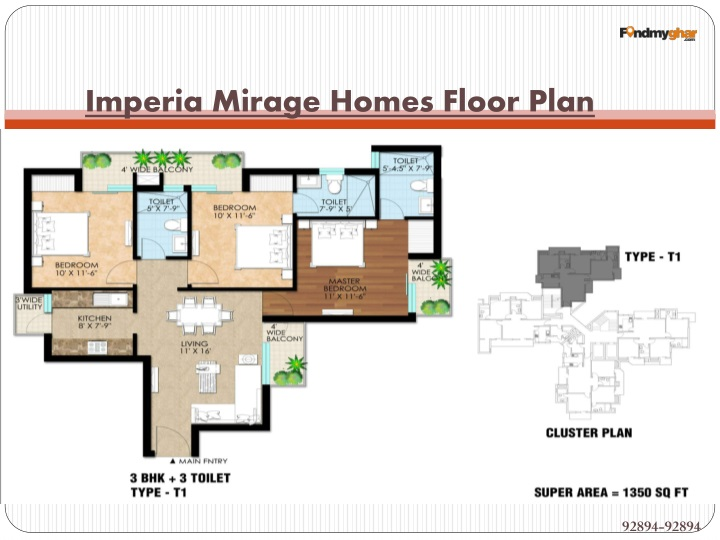 Imperia mirage homes floor plan