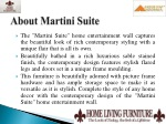 about martini suite