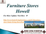 furniture stores howell