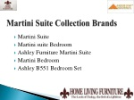 martini suite collection brands