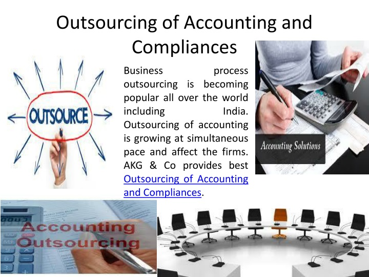 Outsourcing of Accounting and Compliances