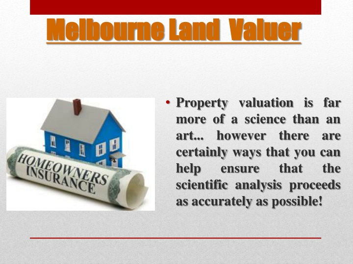 Melbourne land valuer