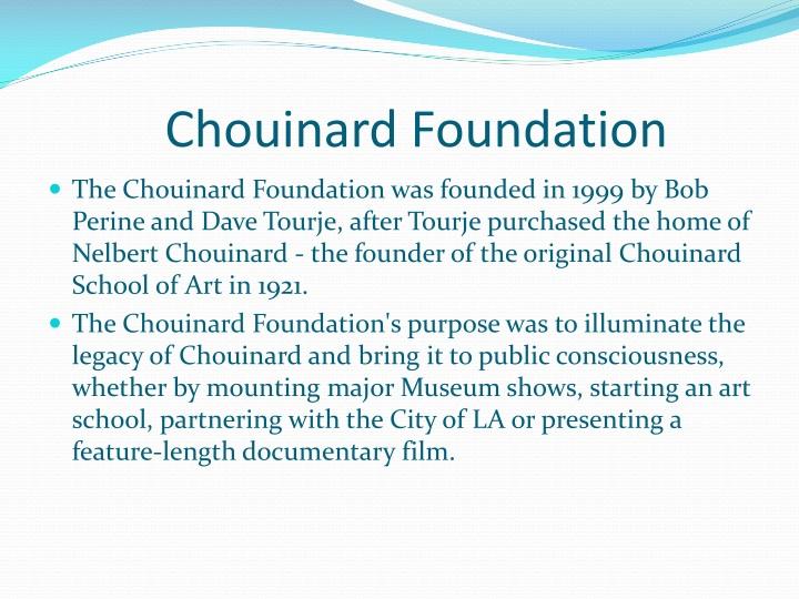 Chouinard Foundation