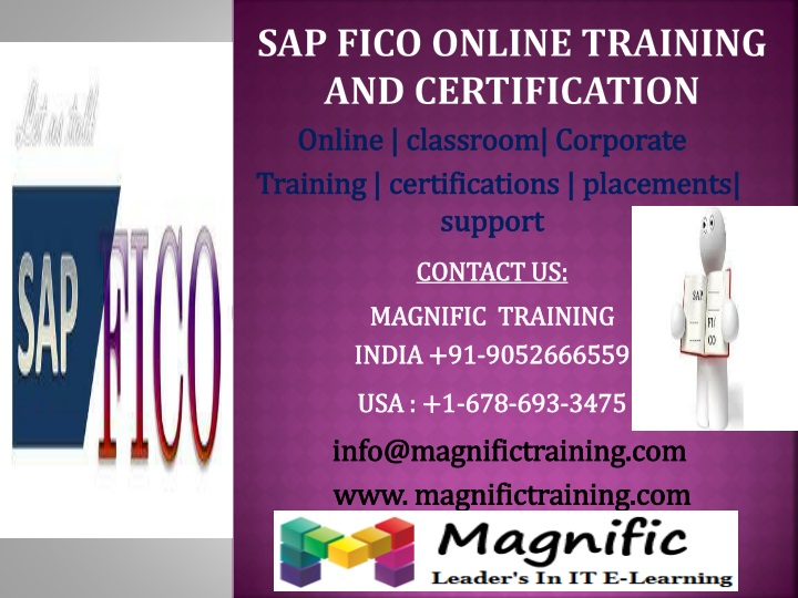 SAP FICO ONLINE TRAINING AND CERTIFICATION