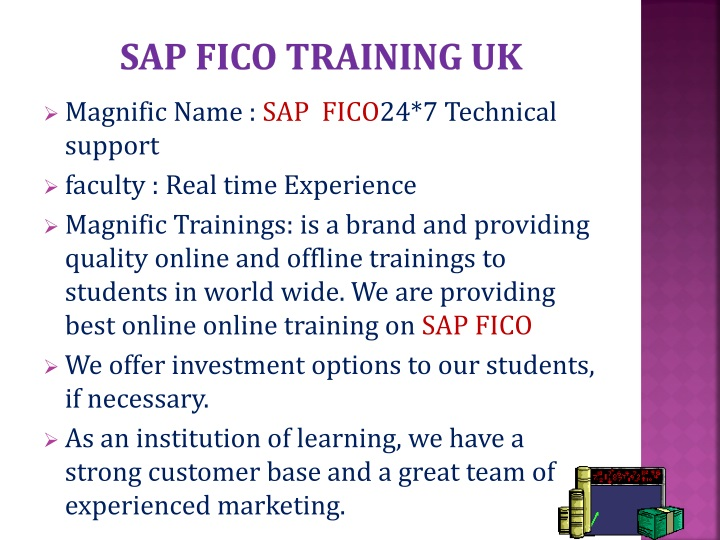 SAP FICO TRAINING UK