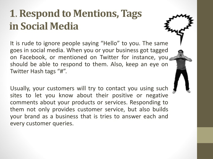 1 respond to mentions tags in social media