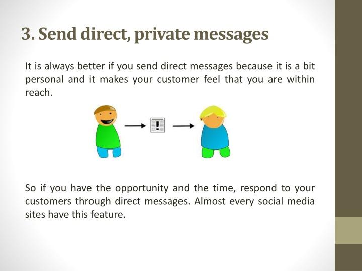 3. Send