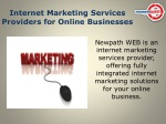 internet marketing services providers for online businesses