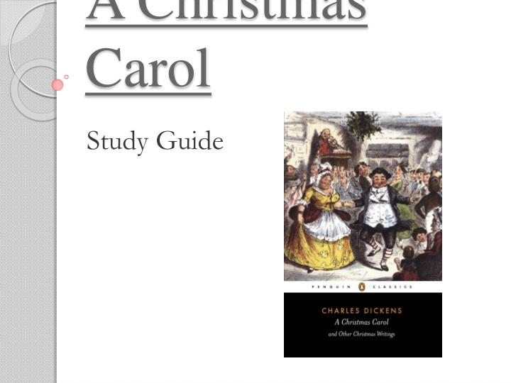 christmas carol coursework introduction
