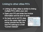 linking to other cities po s