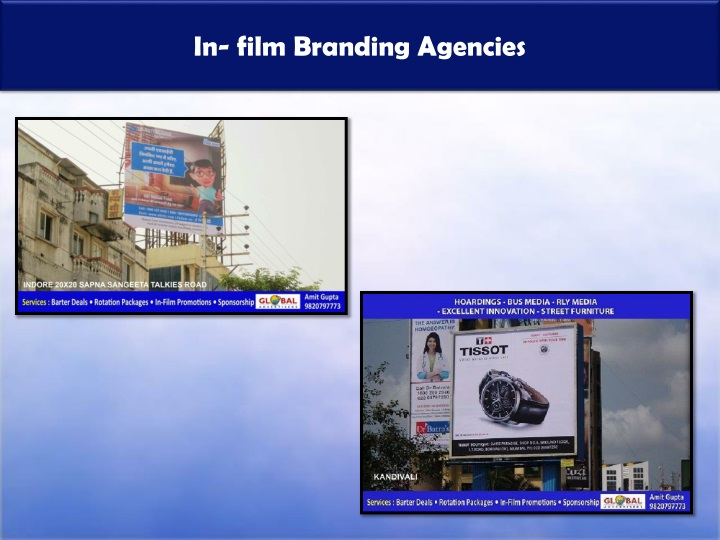 In film branding agencies