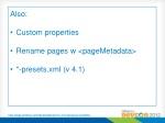 alfresco site data presets acme rd presets xml
