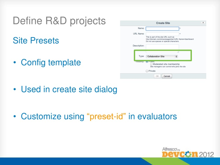 Define R&D projects