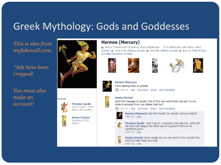 Greek Mythology: Gods and Goddesses