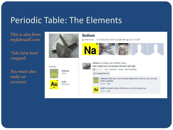 Periodic Table: The Elements
