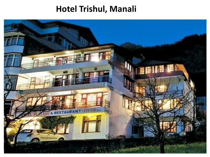 hotel trishul manali