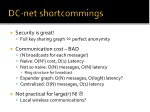 dc net shortcommings
