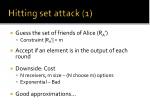 hitting set attack 1