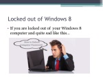 locked out of windows 8