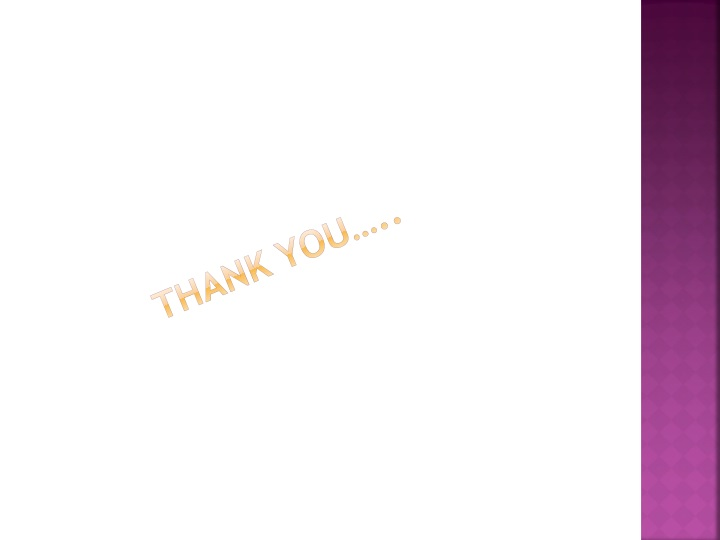 Thank you…..