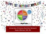 university of arizona nutrition network gayle alleman ms rd