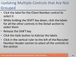 updating multiple controls that are not grouped
