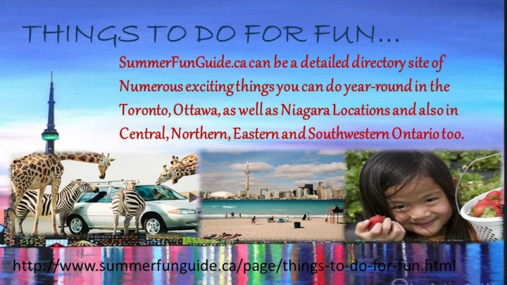 Things to do for fun