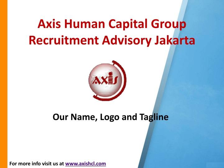 Axis Human Capital Group Recruitment Advisory