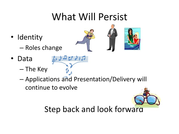 What Will Persist