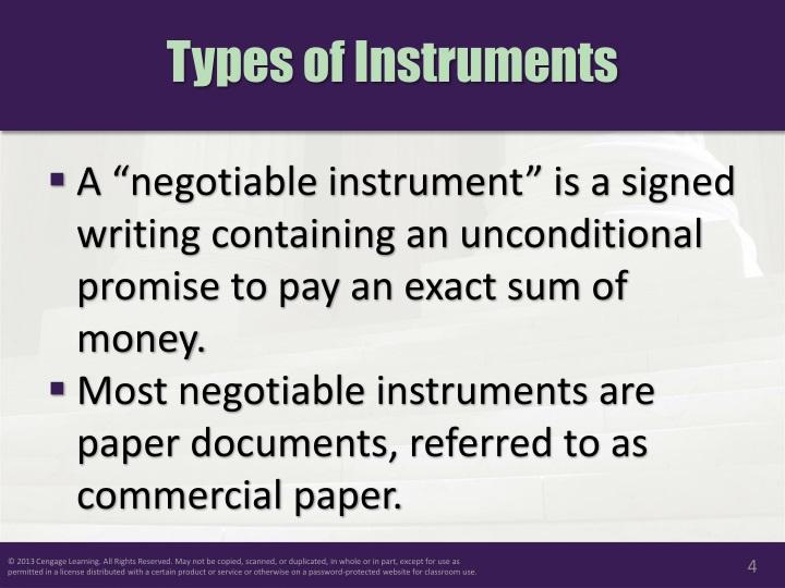 Negotiable instrument power point presentation
