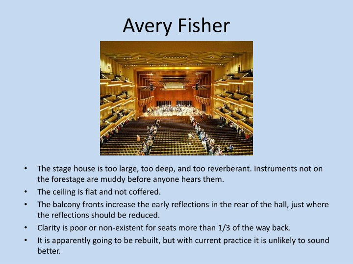Avery Fisher